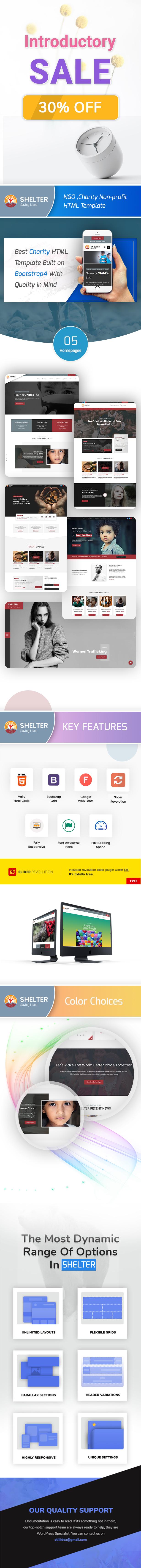 Shelter - Multipurpose Charity Non-profit HTML Template - 1